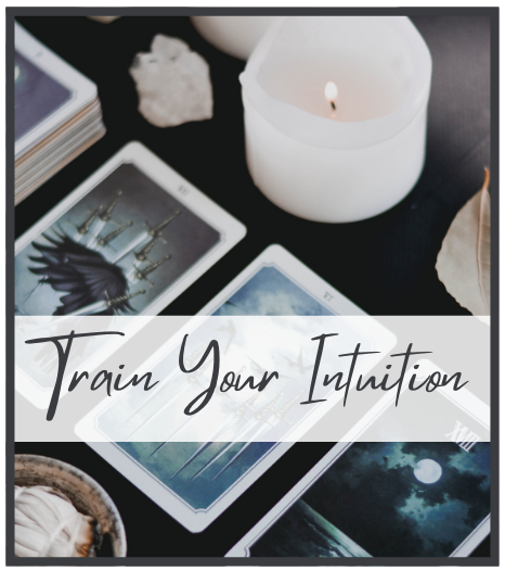 Train your intuition with oracle cards